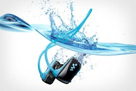 Sony Waterproof Walkman MP3 Player - Divas and Dorks - Analie - Tech In Water