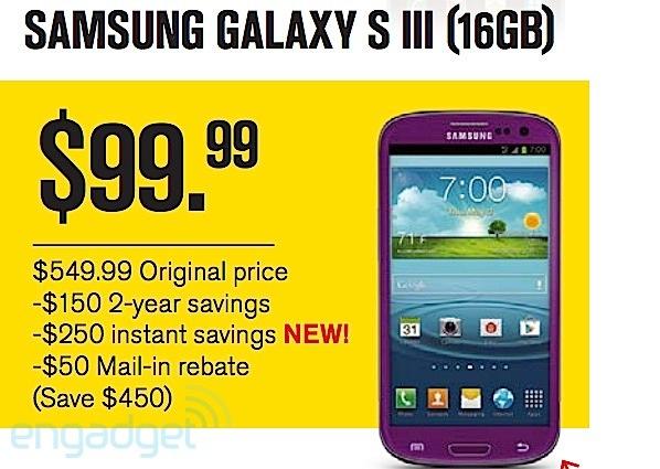 Sprint Samsung Galaxy S III Amethyst Purple - Analie Cruz