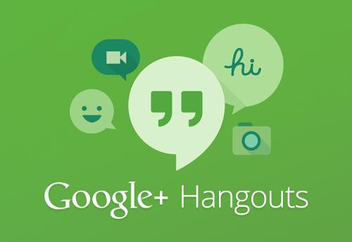 Google Hangouts - Google IO - Logo Analie