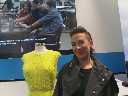 Intel Project Runway winner Michelle Lesniak Franklin
