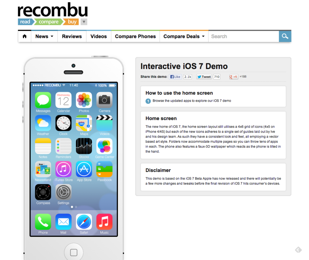 Apple iOS 7 Demo - Recombu (1)
