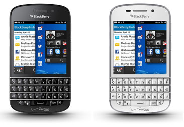 verizon wireless blackberry q10