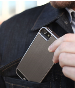 Father's Day Gift Guide - Divas and Dorks - Case-Mate Brushed Aluminum Case