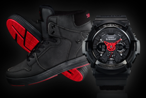 Father's Day Gift Guide - Divas and Dorks - G-Shock Limited Edition Watch With Supra Sneaker