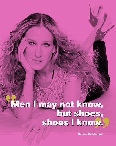 Carrie Bradshaw shoe