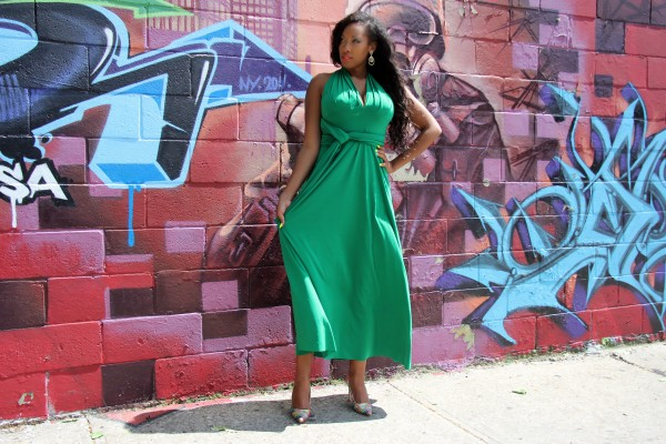 how to wear von vonni dress