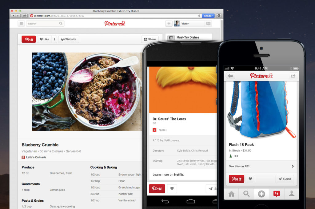 Pinning Made Easier and Better by Pinterest - pinterest recipe - pinterest makes pinning easier