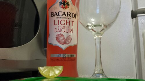 Bacardi Strawberry Daiquiris
