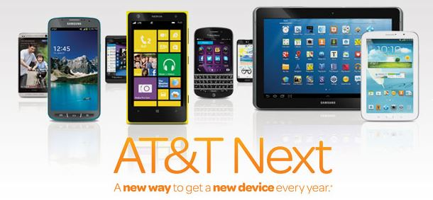 AT&T Next Upgrades - Introducing ATT Next - AT&T Upgrades Info