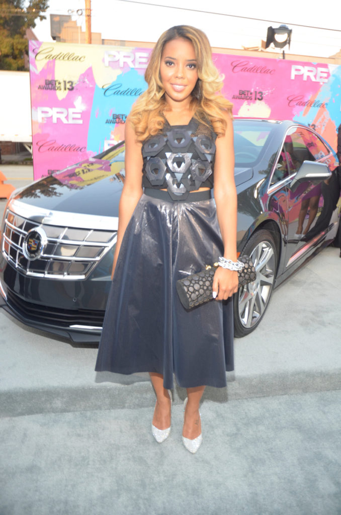 Cadillac ATS PRE BET Awards 2013 Red Carpet Divas and Dorks Brunch - Angela Simmons
