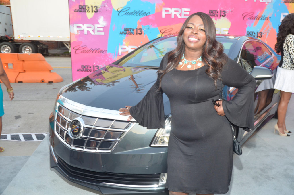 Cadillac ATS PRE BET Awards 2013 Red Carpet Divas and Dorks Brunch - Angie Stone