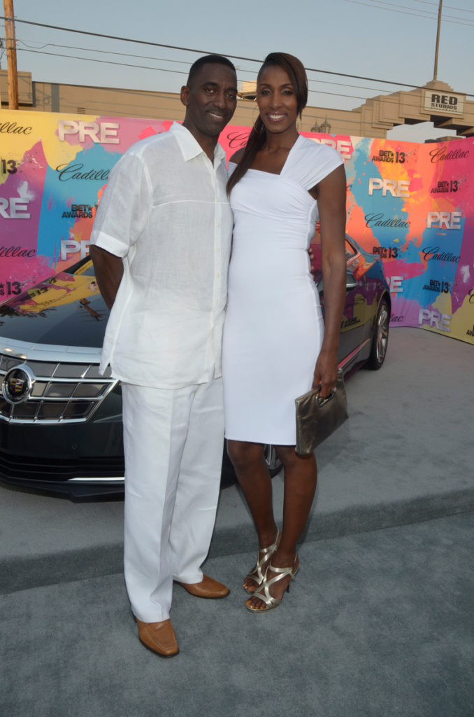 Cadillac ATS PRE BET Awards 2013 Red Carpet Divas and Dorks Brunch  - Lisa Leslie - Michael Lockwood