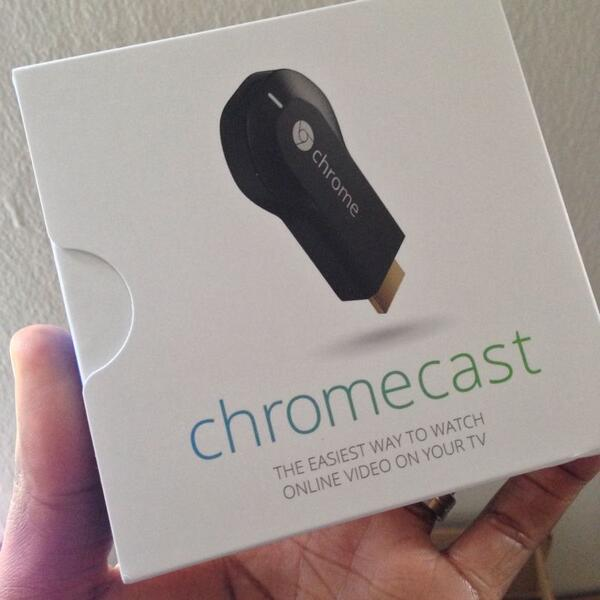 Google Chromecast 2013 Packaging