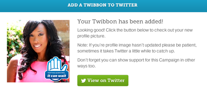 It Can Wait Twibbon