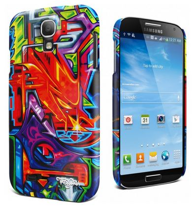 Samsung Galaxy S 4 Case Review - Cygnett Cases - Icon Art Series hard case - Quiet Storm
