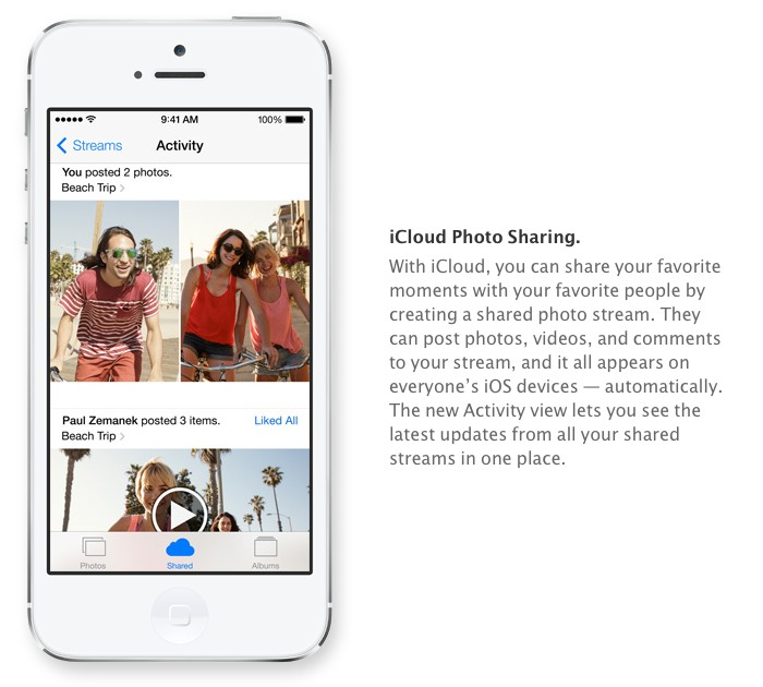 Upgrade You Apple Camera App Has Instagram Like Filters and More in iOS 7 -  iCloud photo sharing