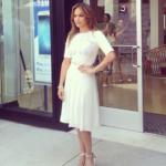 Viva Movil by Jennifer Lopez Opens First Flagship Store in Brooklyn #VivaFlatbush - J Lo - JLO in front of store