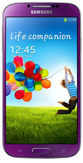Carrier and Smartphone Roundups For Mid August 2013 - Samsung Galaxy S 4 S4 - Purple Mirage - Sprint