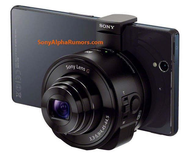 Sony New Lens Camera Leaked - Sony Xperia Lens Cameras DSC-QX10 - DSC-QX100 (2)