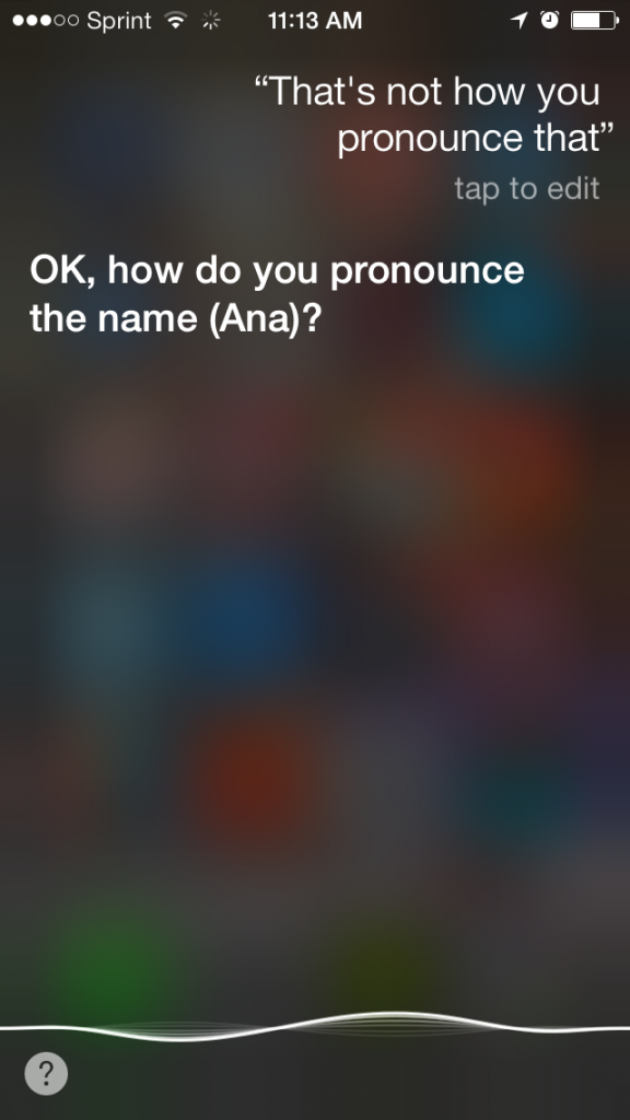 5 Things You Didn't Know You Could Do With Apple iOS 7 - How to teach Siri To Pronounce A Word - Analie (2)