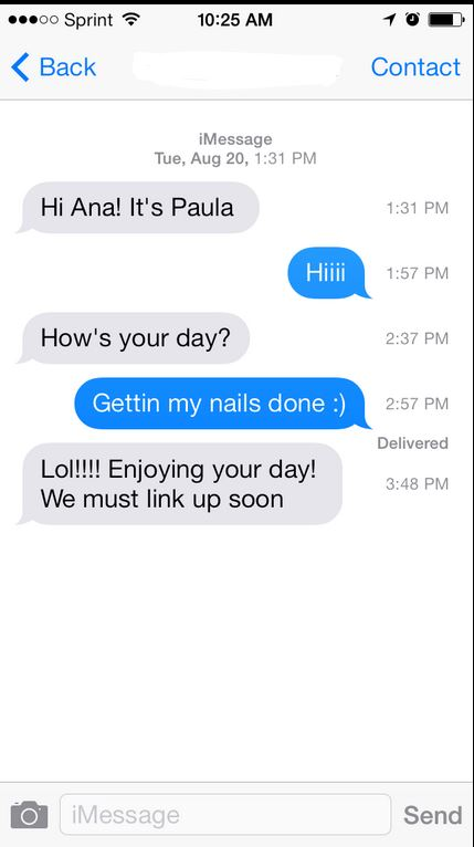 5 Things You Didn't Know You Could Do With Apple iOS 7 - iMessages Time Stamps