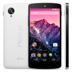Google Nexus 5 Android Smartphone by LG Multiple Views