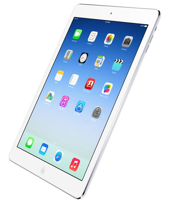 New Apple  iPad Air Display - october 2013 -  Analie