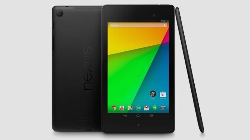 Google Nexus 7 tablet - 2013 edition - top 5 tablets - divas and dorks