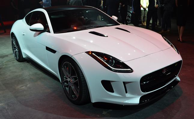 2015 Jaguar F-Type Coupe la auto show
