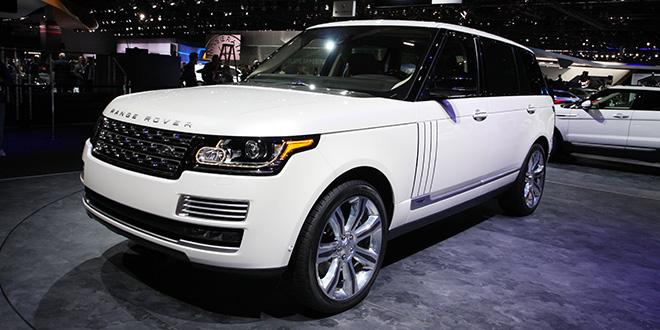2015 Range Rover Long Wheelbase Autobiography la auto show