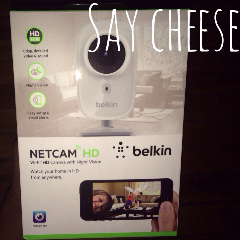 Belkin NetCam HD Verizon Wireless DivasandDorks