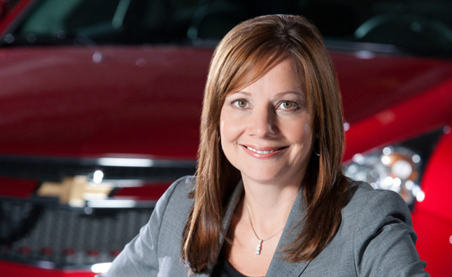 First Female CEO in Auto Industry Mary Barra