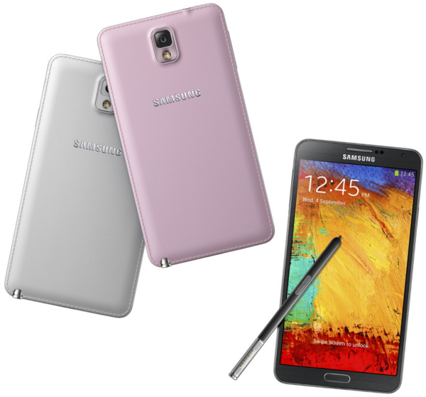 Holiday Smartphone Gift Picks Samsung Galaxy Note 3