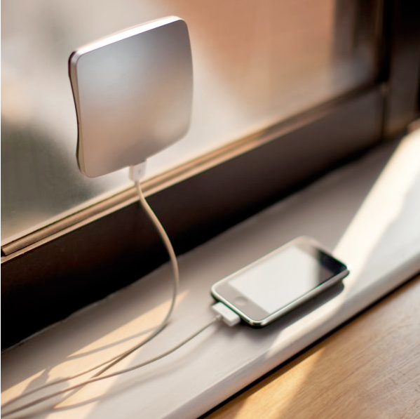 Gift ideas for a techie solar charger window