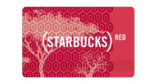 shop for good with RED products starbucks-red-card