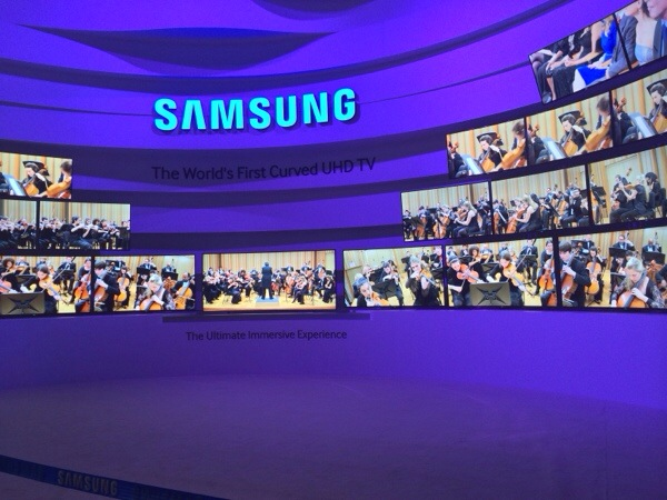CES Sneak Peek - Samsung Curved UHD TV