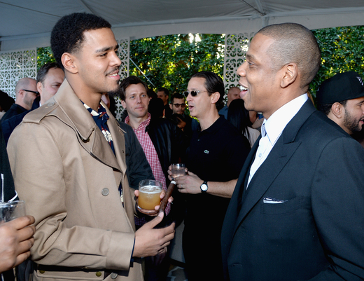 Jay Z and J. Cole Roc Nation brunch