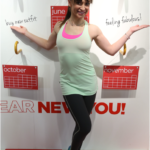 Karina Smirnoff feeling fabulous wearing Xersion Activewear at JCPenney New Year, New You Event in Soho
