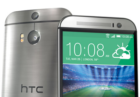 HTC One M8 in Silver