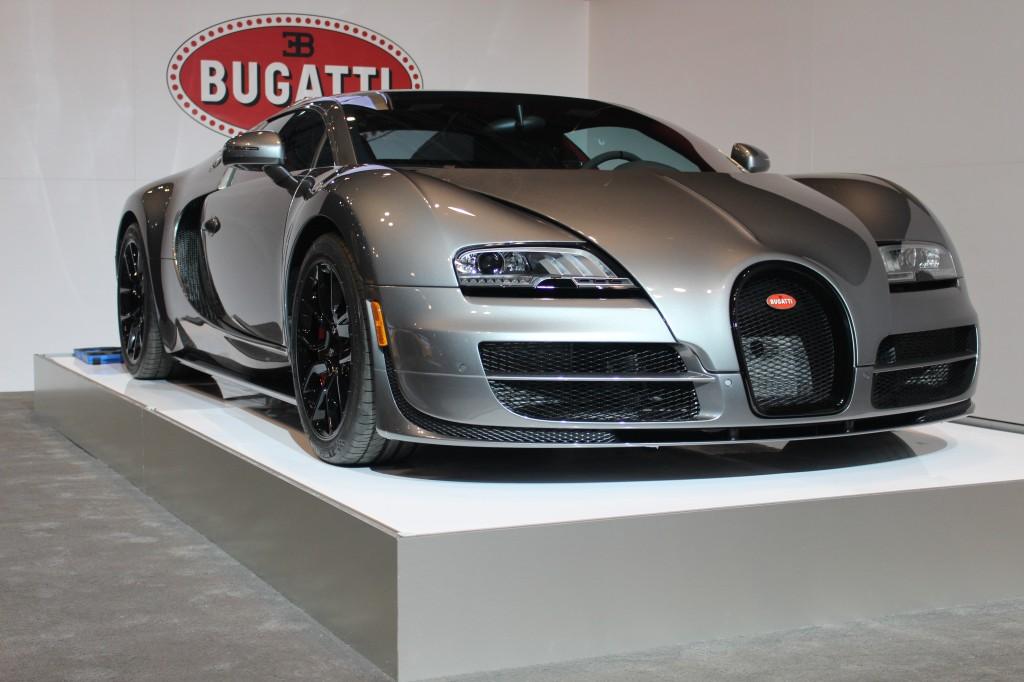 New York Auto Show Bugatti