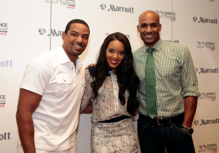 Marriott International partners with Laz Alonso, Angela Simmons, Boris Kodjoe and Nicole Ari Parker for Totally Tripping Panel Discussion during ESSENCE Festival.