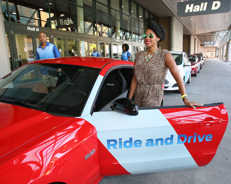 Ford Celebrates Essence fest with Ride and drives
