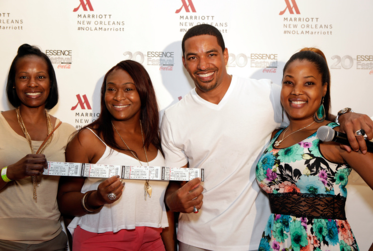 These very lucky Marriott International guests got the surprise and delight of a lifetime... FREE tickets to see Prince!