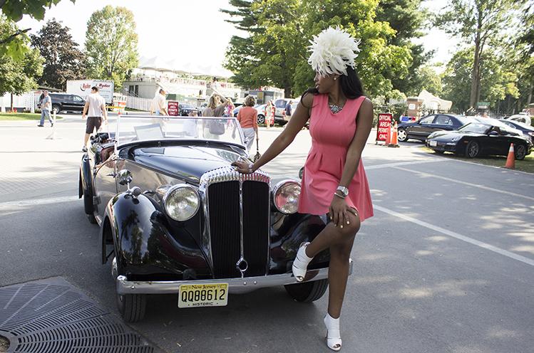 Christen Old School Car DivasDriveInHeels