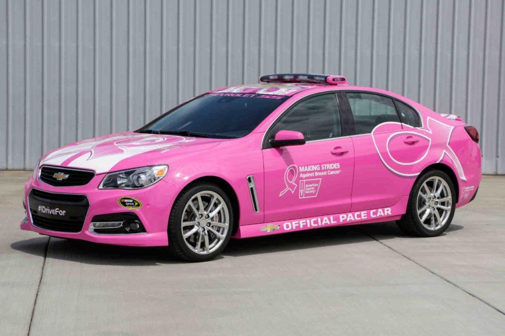 Chevrolet breast cancer awareness
