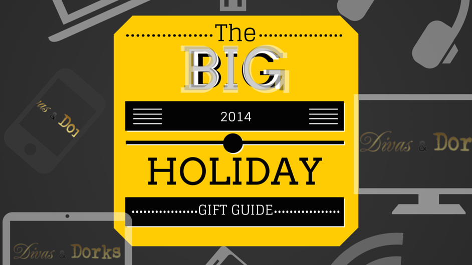 Big Holiday Gift Guide header