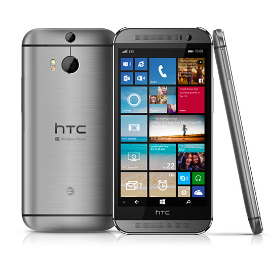 Windows powered HTC One (M8)