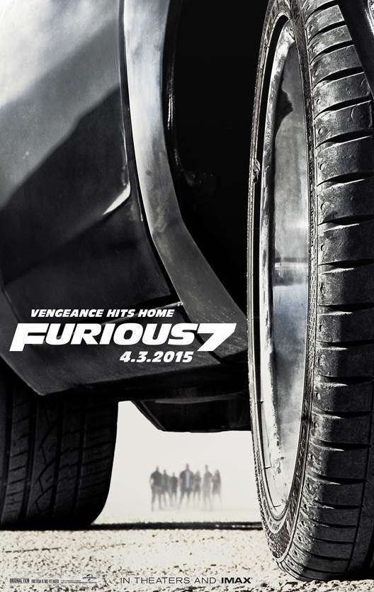 Furious 7 poster