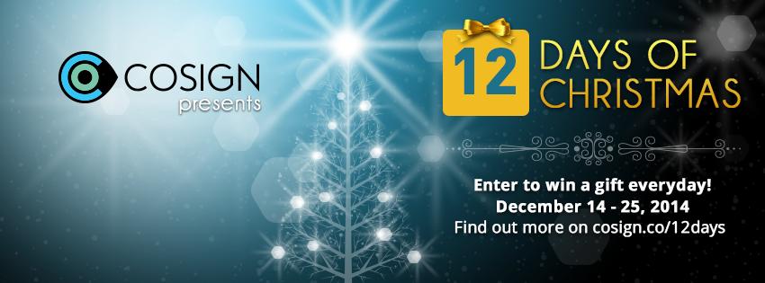 Cosign 12 Days of Christmas