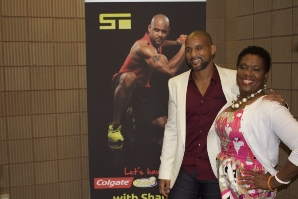 Colgate Total Conversation Shaun T Meet and Greet